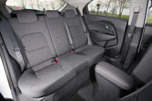 Rio rear seats