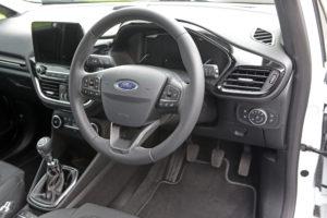Ford Fiesta Cabin