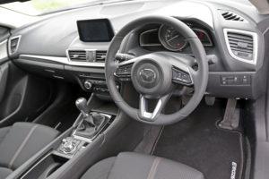Mazda 3 cabin