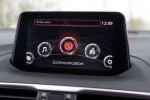 Mazda 3 console