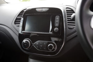 Captur infotainment