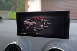 Audi Q2 console